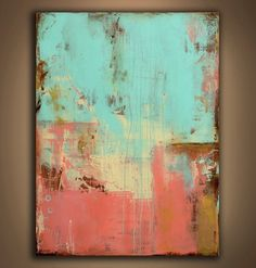 Colorful abstract. Love the colors
