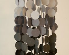 Gray Ombre Paper Mobile