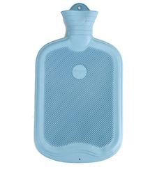 These classic hot water bottles are made in Germany from 100% natural rubber. With ribs on both sides to increase surface area. For those days when you need a little extra attention.