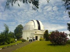 Bosscha Observatory, Bandung. If you love astronomy you can come here. This Observatory is old enough.