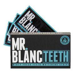 Mr Blanc Teeth Whitening Strips - Bělící zubní pásky - MR BLANC