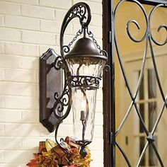 "Anastasia Wall Sconce - Burnished Bronze, Large (37""H) - Frontgate"