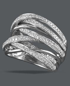 Love this ring. Great for an anniversary band one day! :)