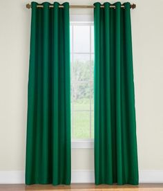 Premium Faux Silk Lined Grommet-Top Curtains by Country Curtains - Pinned from iCatalog™