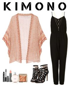 """Kimono"" by chase-stars ❤ liked on Polyvore featuring Mes Demoiselles..., Topshop, ZOEVA, NYX, Chanel and Hourglass Cosmetics"