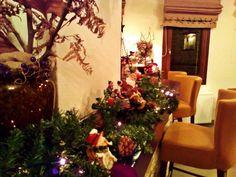 Bar at Lions Nine Hotel ,Pilio, Greece Christmas 2015, Christmas Tree, Lions, Greece, Bar, Holiday Decor, Home Decor, Teal Christmas Tree, Greece Country