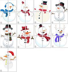 Snow Activities, Winter Activities For Kids, Winter Crafts For Kids, Winter Kids, Crafts For Kids To Make, Preschool Activities, Diy And Crafts, Snowman Games, Christmas Themes