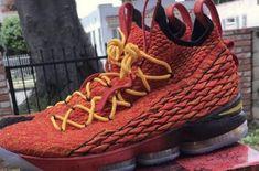 First Look At The Nike LeBron 15 Fairfax PE