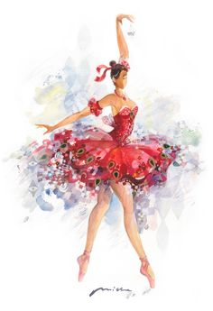 The Fairy of Bravery - Sleeping Beauty Ballet - Bograd Kids Art Ballet, Ballet Painting, Dance Ballet, Ballerina Kunst, Sleeping Beauty Ballet, Boys And Girls Club, Tiny Dancer, Ballet Beautiful, Ballet Costumes