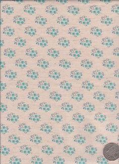 "Little Floral White  ""Mosaic Bloom"" designed by Rosalie Dekker."