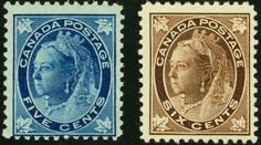two Canadian stamps - expensive postage stamps Stamp Auctions, Birthday Bag, Rare Stamps, In Memory Of Dad, O Canada, First Day Covers, Picture Postcards, Penny Black, Stamp Collecting