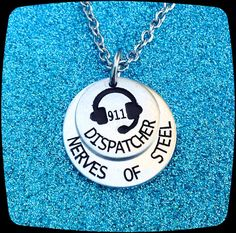 911 Dispatcher, Dispatcher Jewelry, 911 Dispatcher Necklace,  911 Operator, 911 Professional, 911 dispatcher Jewelry, 911 Dispatch, ENGRAVED