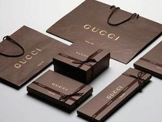 gucci packaging - the most iconic brands have some of the best and most effective packaging...it's not a coincidence.