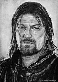 Son of Gondor by *Fantaasiatoidab on deviantART ~ Boromir ~ LOTR
