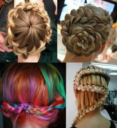 wacky fun hairstyles must try!!