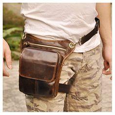 Le'aokuu Mens Genuine Leather Messenger Riding Hip Bum Waist Pack Drop Leg Cross Over Bag (Brown) Le'aokuu http://www.amazon.com/dp/B00VI0YJ9E/ref=cm_sw_r_pi_dp_OUlCvb0BZCFYX