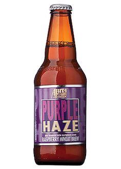 Abita purple haze is a raspberry wheat beer from Louisiana.