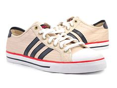 Love these. Saw them at DSW, but they didn't have my size. Can't find them anywhere besides Asia now. #sneakers #adidas #courtdailystripes