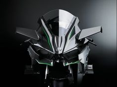 The Kawasaki Ninja H2R is a track-only sport bike with a carbon fiber body. Its supercharged 998cc inline-four engine makes an insane 296bhp and 115lb.ft. of torque. Its road-legal variant, the H2, will be unveiled soon.