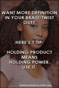 Natural Hair - Perfecting Braid Outs