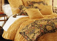 Shop Florentine Bedding from Austin Horn Collection at Horchow, where you'll find new lower shipping on hundreds of home furnishings and gifts. Glam Bedding, Coverlet Bedding, Red Bedding, Luxury Bedding, Bedding Sets, Modern Bedding, Luxury Sheets, Bedding Inspiration, Beds For Sale