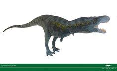Paleoarte por Vitor Silva. Tyrannosaurus rex (1:35)