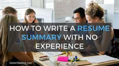 Rough Resume Examples Hair Colors Writing Resume Tips Resume Writing Examples, Resume Summary Examples, Great Resumes, Resume Writing Services, Resume Tips No Experience, Resume Advice, Job Resume, Career Advice, Sample Resume