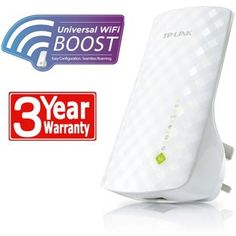 Buy TP-LINK AC750 Dual Band Wall Plug Wi-Fi Range Extender at Argos.co.uk, visit Argos.co.uk to shop online for Wireless networking accessories