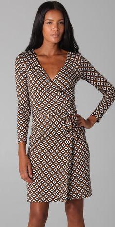 Diane von Furstenberg New Julian Wrap Dress | SHOPBOP