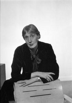 Virginia Woolf, Paris 1935 by Man Ray