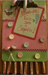 Create a Smarties Clipboard to share notes with your special smartie!  @nwamotherlode shows u how -> http://bit.ly/SmartiesClip