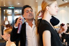 VIP-STYLIST || Shan Rahimkhan. FASHION2NIGHT at EUROPA 2. || MIX IT Ausnahmsweise nur Party statt Kreuzfahrt / MIX IT For once just a party but no cruise. Foto: © Hapag-Lloyd Cruises