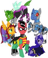 Ponified Teen Titans!