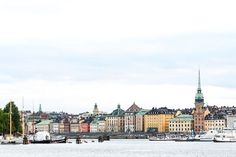 Restaurant and travel guide to Stockholm, including tips for families travelling with small children.