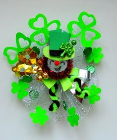St. Patrick's Day Corsage #4 When Irish Eyes are Smiling
