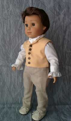 4453a6316 Logan as a history character | American Girl Playthings! Boy American Girl  Doll, American