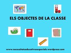 Vocabulari dels objectes de la classe by Rosa T via slideshare Letters, Activities, Education, Pictogram, Fotografia, Classroom, Letter, Lettering, Onderwijs