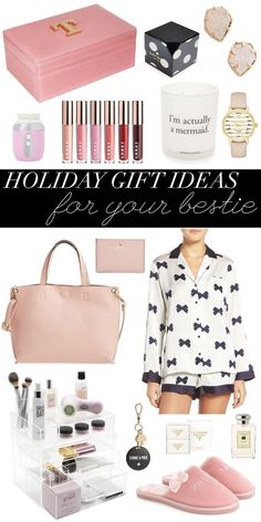 pinterest: swimchickstyle Holiday gift ideas for best friends.