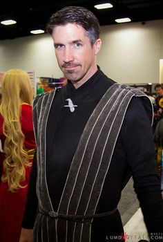 Petyr Baelish - Game of Thrones Cosplay.  You backstabbing bastard! Go to my tent!