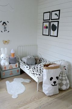 Kids rooms, kids bedroom, enfants chambre, TellKiddo bag, ikea bed.