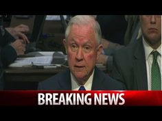 JEFF SESSIONS JUST ADMITTED TO EVIL THING ON SENATE FLOOR THAT HE'S DOIN...