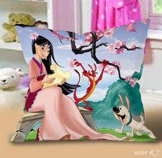 Mulan disney princes Pillow Cases