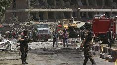 Nahe deutscher Botschaft: Autobombe tötet viele Menschen in Kabul