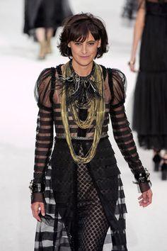 Ines de la Fressange in Chanel