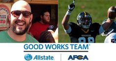Millersville tight end Trenton Petrovich is a candidate Allstate AFCA Good Works Team!