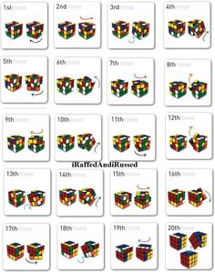 how to solve rubik's cube - Google Search