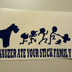 Hey, check out what I'm selling with Sello: My schnauzer ate your stick family http://calmirdesigns.sello.com/shares/wMWpm