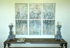 "Melissa Key Abstract Art ""Journey"""