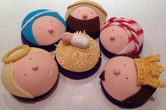 Nativity Cupcakes Christmas 2012