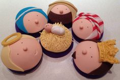 Nativity Cupcakes Christmas 2012                                                                                                                                                                                 More